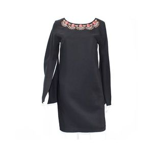Cynthia Steffe Black Dress With Sleeves